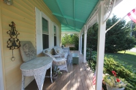Sit on the porch